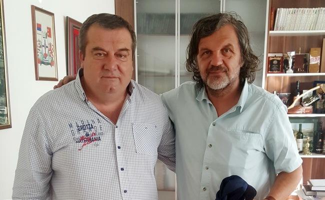 Миљан Алексић и Емир Кустурица