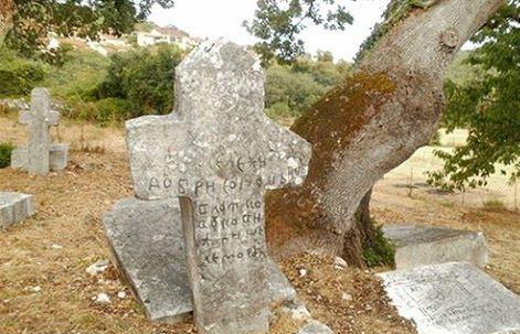 Гроб Влатка Вуковића у Бољунима код Стоца (Фото Бљесак)