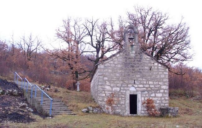 Црква на Мекој Груди где се причестила војска  Влатка Вуковић