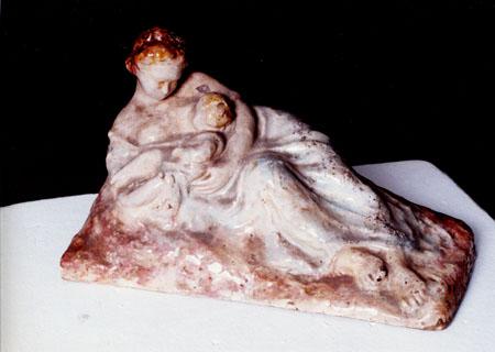 Материнство - скулптура
